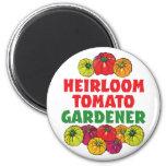 Heirloom Tomato Gardener Magnet