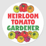 Heirloom Tomato Gardener Sticker