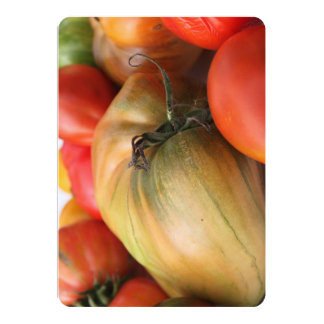Heirloom Tomato Harvest Card