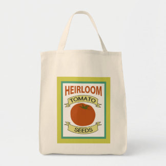 Heirloom Tomato Seed Packet Grocery Tote