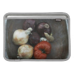 Heirloom tomato, yellow onion, red onion, ginger MacBook air sleeve