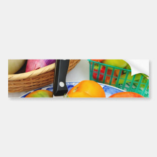 Heirloom Tomatoes And Vegetables Bumper Sticker