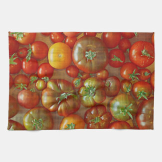 Heirloom Tomatoes Kitchen Towel
