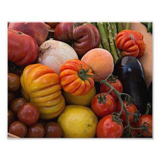 Heirloom Tomatoes Photo Print