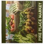 Heirloom Tomatoes- Pike Place Market Napkin