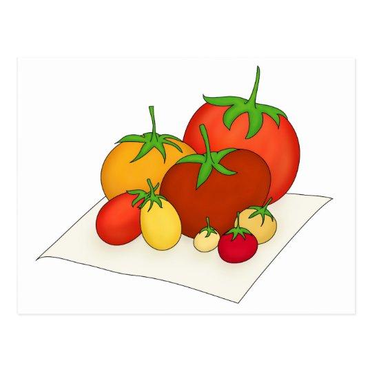Heirloom Tomatoes Postcard