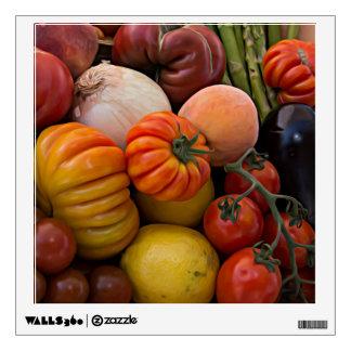Heirloom Tomatoes Wall Decal