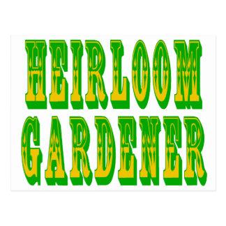 Heirloom Vegetables Postcard