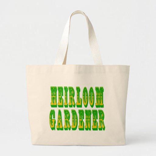 Heirloom Vegetables Tote Bag