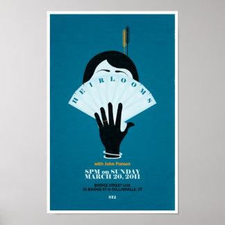 Heirlooms - 3.20.2011 poster