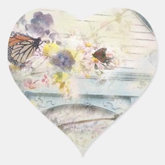 Heirlooms Heart Sticker