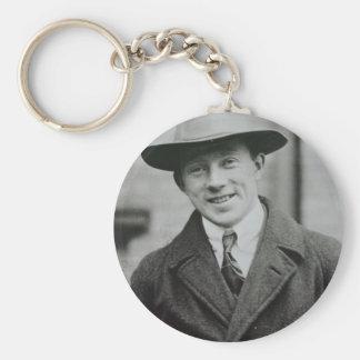 heisenberg basic round button keychain