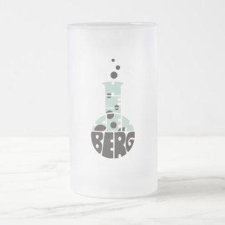 Heisenberg 16 Oz Frosted Glass Beer Mug