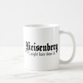 Heisenberg… Taza