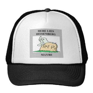 heisenberg uncertainty principle joke trucker hat