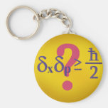 Heisenberg uncertainty principle key chains