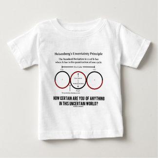Heisenberg's Uncertainty Principle Physics Humor Baby T-Shirt