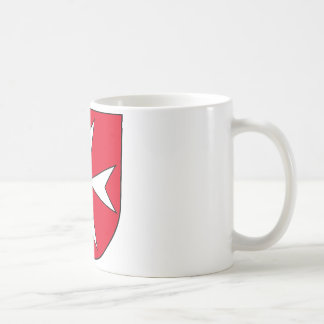 Heitersheim_ coat of arms classic white coffee mug
