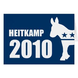 HEITKAMP 2010 GREETING CARDS