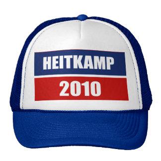 HEITKAMP 2010 MESH HATS