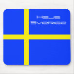 Heja Sverige Mouse Pads