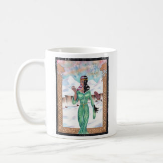 Hel, goddess of death classic white coffee mug