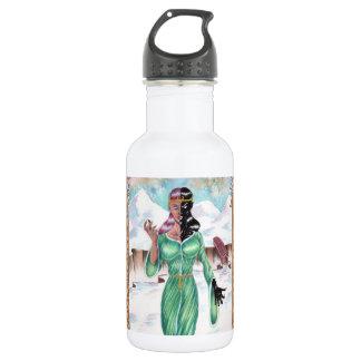 Hel, goddess of death 18oz water bottle
