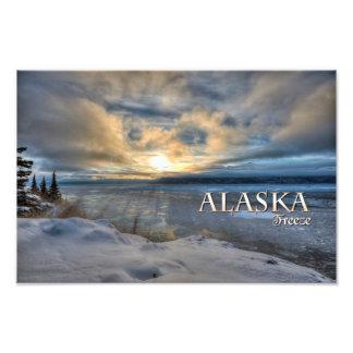 Helada de Alaska Fotografia
