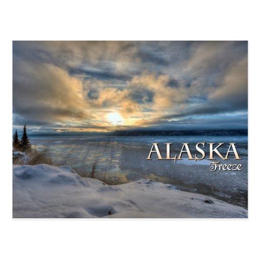 Helada de Alaska Postal