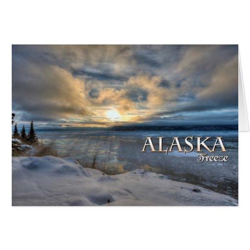 Helada de Alaska Felicitación
