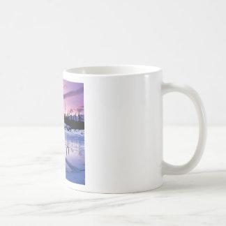 Helada de la tarde del invierno taza clásica