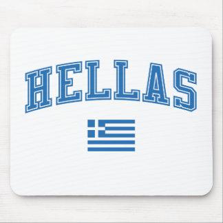 Hélade + Bandera Tapete De Ratones