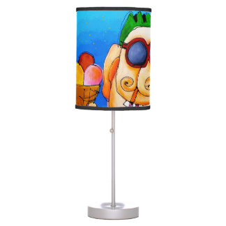 helado 1 lámpara de escritorio