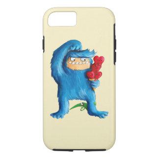 Helado azul del monstruo funda iPhone 7