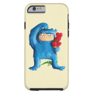 Helado azul del monstruo funda resistente iPhone 6
