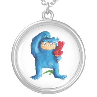 Helado azul del monstruo grimpola personalizada