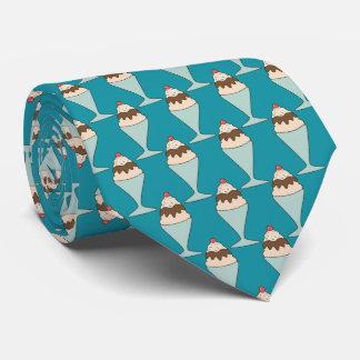 helado caliente azul del dulce de azúcar corbata