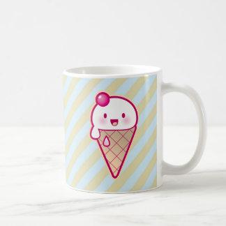 Helado de Kawaii Tazas De Café