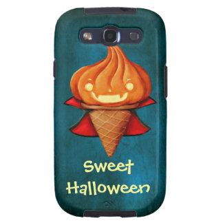 Helado de la calabaza del vampiro de Halloween Galaxy S3 Fundas