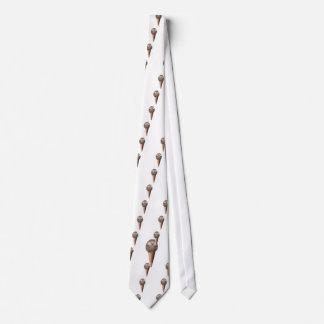 Helado del erizo corbata personalizada