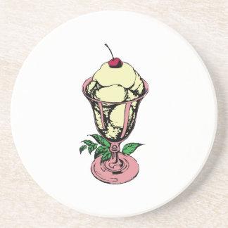 Helado del helado posavasos diseño