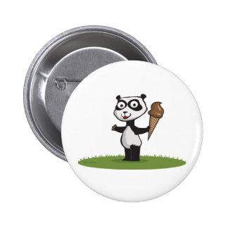 Helado del oso de panda pin
