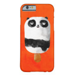 Helado del Popsicle de la panda Funda Barely There iPhone 6