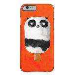 Helado del Popsicle de la panda Funda Para iPhone 6 Barely There