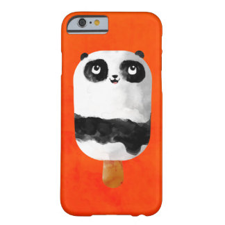 Helado del Popsicle de la panda Funda Para iPhone 6 Barely There