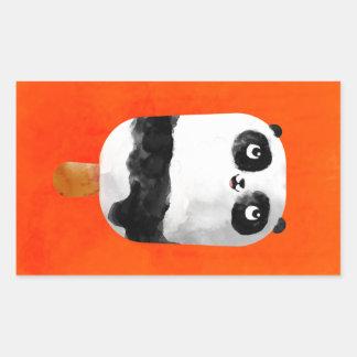 Helado del Popsicle de la panda Rectangular Altavoz