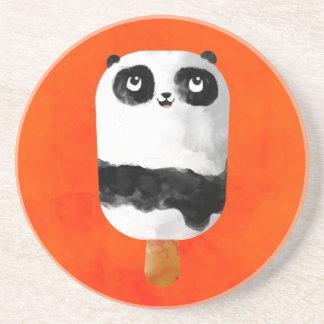 Helado del Popsicle de la panda Posavasos Manualidades