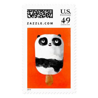 Helado del Popsicle de la panda Franqueo