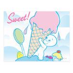 Helado dulce de Casper Tarjeta Postal