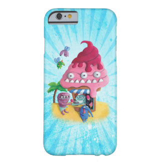 Helado en la playa funda para iPhone 6 barely there